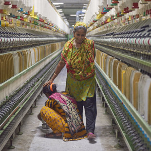 Garment production in Bangladesh 2016