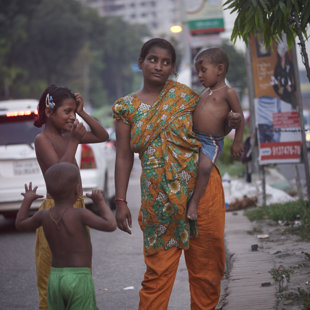 Fleeing from somthing even worth, Dhaka Bangladesh 2015