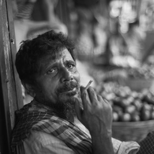 Market faces, Dhaka, Bangladesh