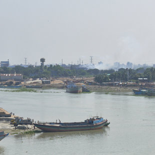 River transport is important in Bangladesh and many other contryes in the South East Asian