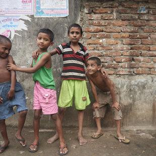 Boys, Koral Slum, Dhaka