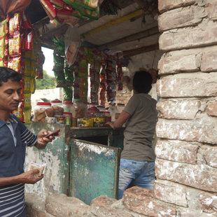 The tea shop, Koral Slum, Dhaka