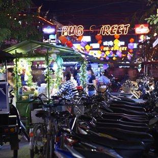 Pub Street, Siam Reap